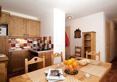 Location au ski Studio 4 personnes - Residence  Rochebrune - Orcières 1850 - Table