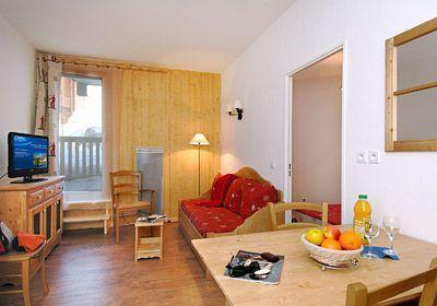 Location au ski Appartement 3 pièces coin montagne 8 personnes - Residence Terrasses De La Bergerie - Orcières 1850 - Salle à manger