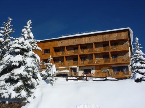 Location au ski Hôtel les Catrems - Orcières Merlette 1850 - Extérieur hiver