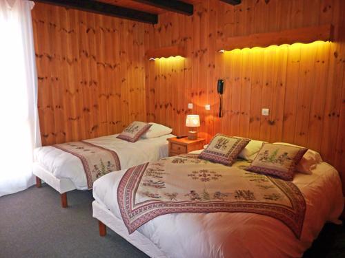 Location au ski Hotel Les Catrems - Orcières Merlette 1850 - Lit double