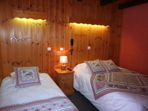 Location au ski Hôtel les Catrems - Orcières Merlette 1850 - Lits twin