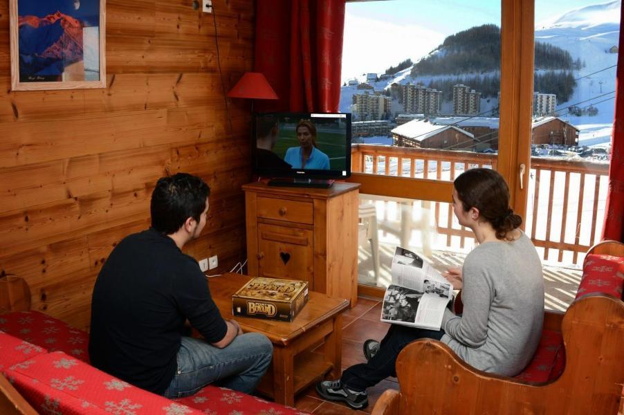 Location au ski La Résidence Rochebrune Le Vallon - Orcières Merlette 1850 - Tv