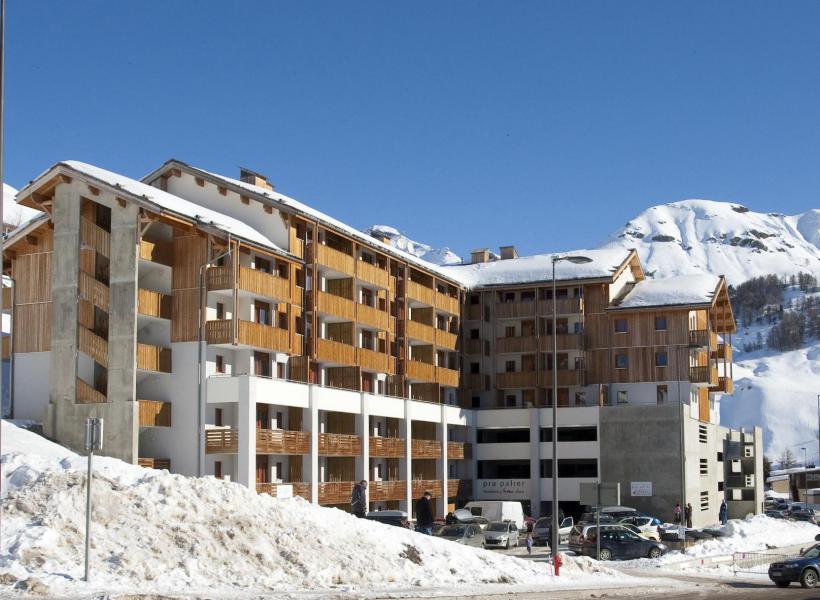 Аренда на лыжном курорте Résidence Etoiles d'Orion - Orcières Merlette 1850 - зимой под открытым небом