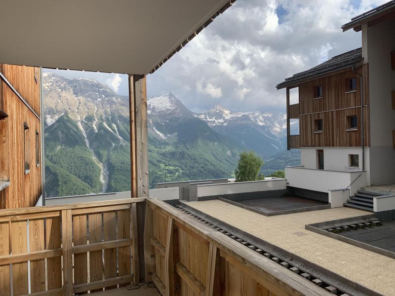 Location au ski Résidence Etoiles d'Orion - Orcières Merlette 1850 - Balcon