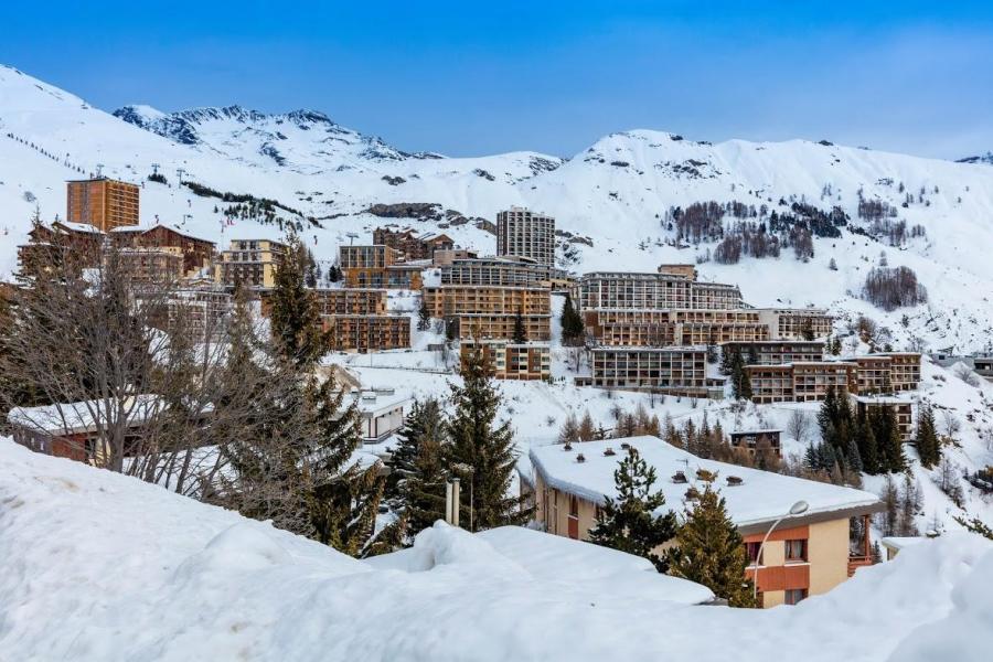 Vacaciones en montaña Résidence le Pra Palier - Orcières Merlette 1850 - Invierno