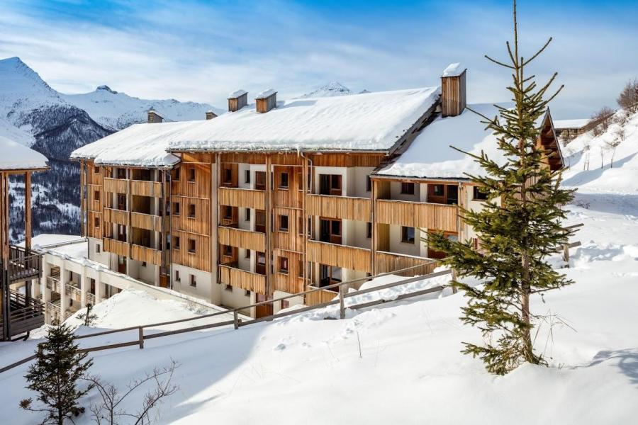 Location au ski Résidence le Pra Palier - Orcières Merlette 1850 - Extérieur hiver