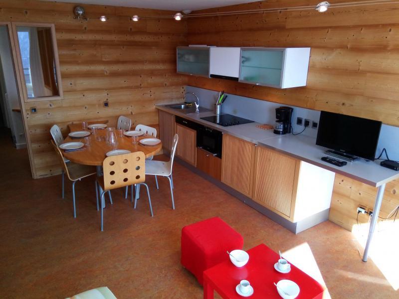 Location au ski Appartement 2 pièces cabine 6 personnes (82A) - Résidence Le Queyrelet 3 - Orcières Merlette 1850