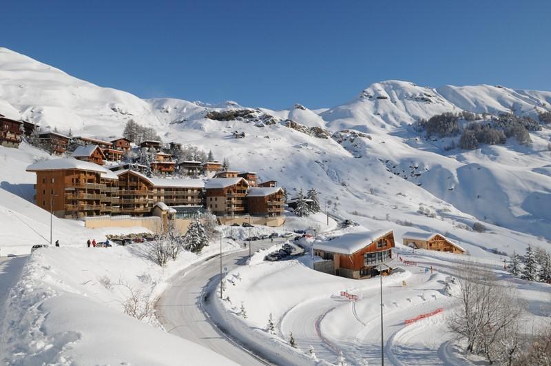 Location au ski Studio coin montagne 6 personnes (38A) - Résidence le Rond Point des Pistes I - Orcières Merlette 1850 - Extérieur hiver