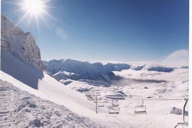 Location au ski Studio coin montagne 6 personnes (48A) - Résidence le Rond Point des Pistes I - Orcières Merlette 1850 - Baignoire
