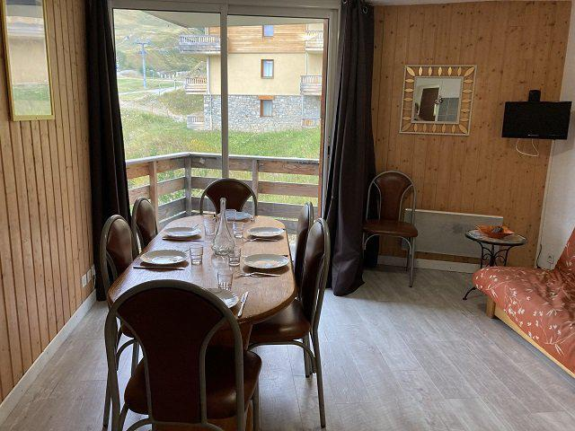 Rent in ski resort 3 room apartment 7 people (51B) - Résidence le Rond Point des Pistes II - Orcières Merlette 1850 - Winter outside