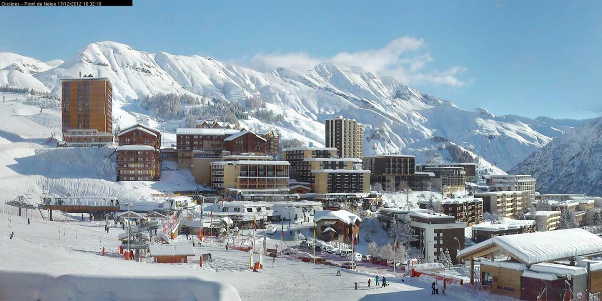 Location au ski Appartement 2 pièces coin montagne 7 personnes (35B) - Résidence le Rond Point des Pistes II - Orcières Merlette 1850