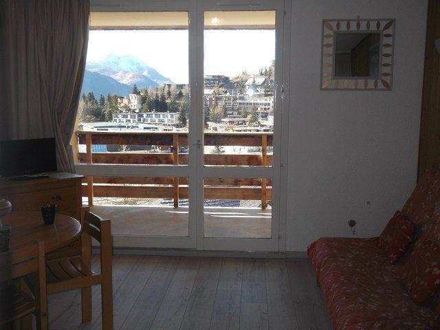 Rent in ski resort Studio sleeping corner 4 people (55B) - Résidence le Rond Point des Pistes II - Orcières Merlette 1850
