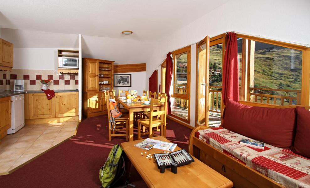 Location au ski Résidence les Cristallines - Orcières Merlette 1850 - Salle à manger