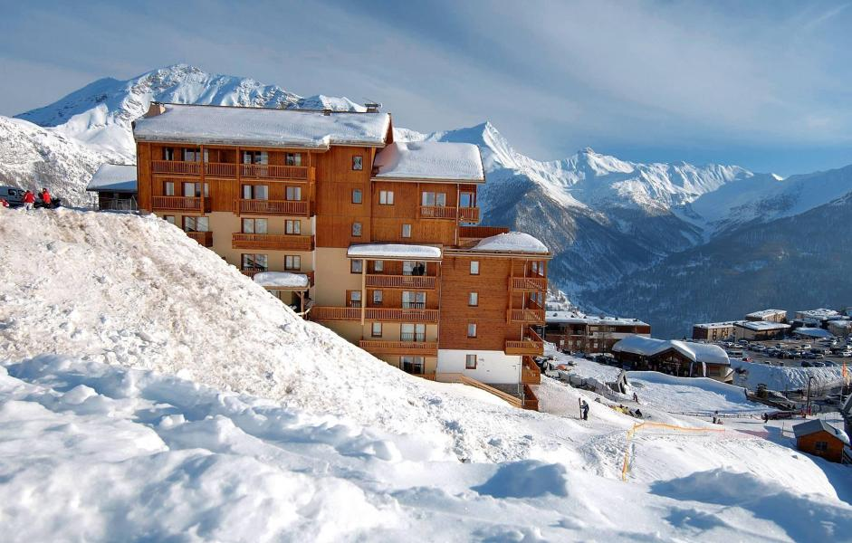 Vakantie in de bergen Résidence Terrasses de la Bergerie - Orcières Merlette 1850 - Buiten winter