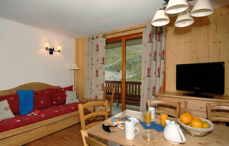 Rent in ski resort Résidence Terrasses de la Bergerie - Orcières Merlette 1850 - Dining area