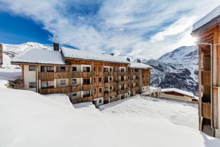 Location au ski La Résidence le Pra Palier - Orcières Merlette 1850 - Extérieur hiver