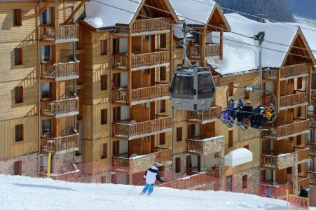 Location au ski La Résidence Rochebrune - Orcières Merlette 1850 - Extérieur hiver