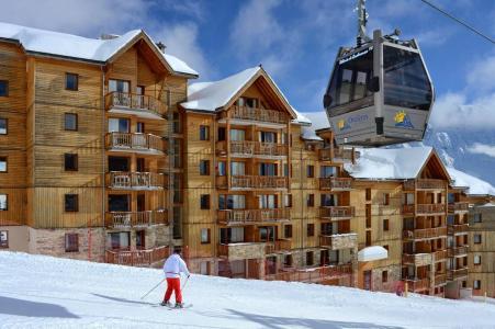Лыжные каникулы по системе все включено La Résidence Rochebrune Le Vallon