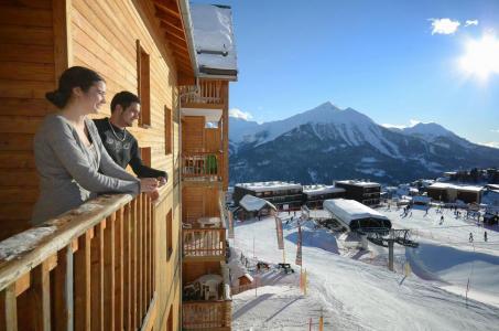 Location au ski La Résidence Rochebrune Le Vallon - Orcières Merlette 1850 - Extérieur hiver