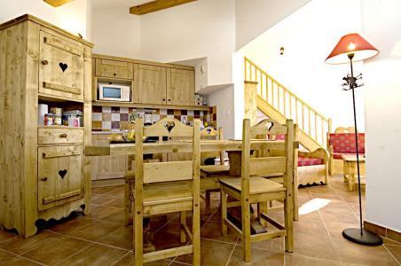 Rent in ski resort La Résidence Rochebrune Le Vallon - Orcières Merlette 1850 - Living room
