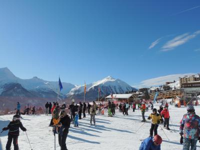 Rent in ski resort Résidence Etoile d'Orion - Orcières Merlette 1850 - Winter outside