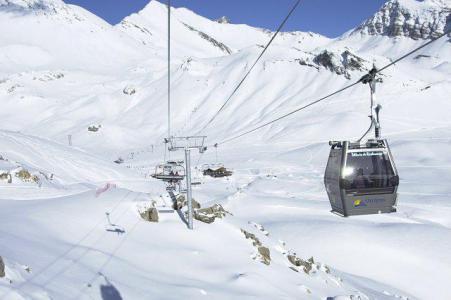 Rent in ski resort Studio 4 people (124A) - Résidence le Rond Point des Pistes I - Orcières Merlette 1850