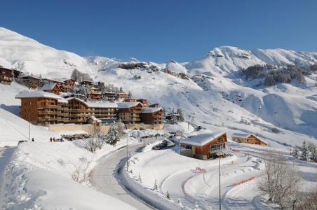 Rent in ski resort Studio sleeping corner 4 people (49B) - Résidence le Rond Point des Pistes I - Orcières Merlette 1850 - TV