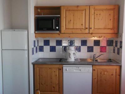 Rent in ski resort 2 room apartment cabin 6 people (501) - Résidence les Balcons du Soleil - Orcières Merlette 1850 - Kitchen