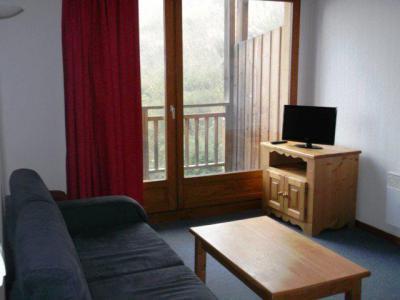 Rent in ski resort 3 room apartment 6 people (211) - Résidence les Balcons du Soleil - Orcières Merlette 1850 - Living room