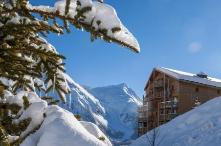 Vakantie in de bergen Résidence les Cristallines - Orcières Merlette 1850 - Buiten winter