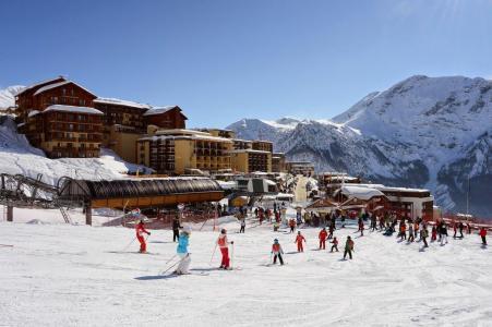 Location au ski Résidence les Terrasses de la Bergerie - Orcières Merlette 1850 - Extérieur hiver