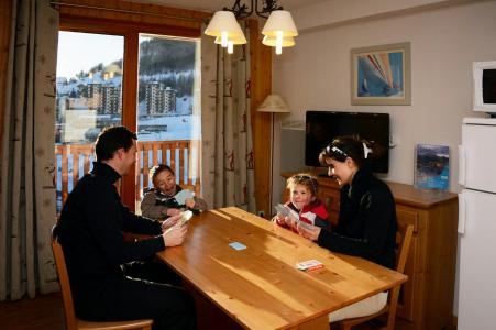 Location au ski Résidence les Terrasses de la Bergerie - Orcières Merlette 1850 - Salle à manger