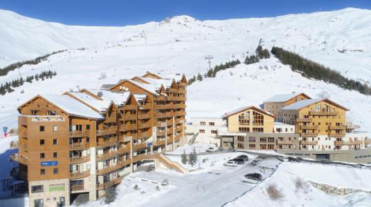 Location au ski Résidence Prestige Rochebrune Les Cimes - Orcières Merlette 1850 - Extérieur hiver