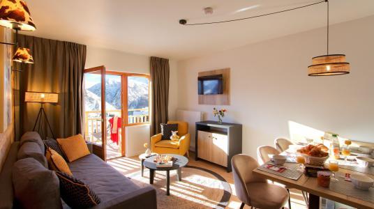 Location au ski Résidence Prestige Rochebrune Les Cimes - Orcières Merlette 1850 - Séjour