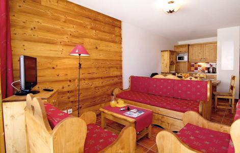 Location au ski Résidence Rochebrune - Orcières Merlette 1850 - Coin séjour