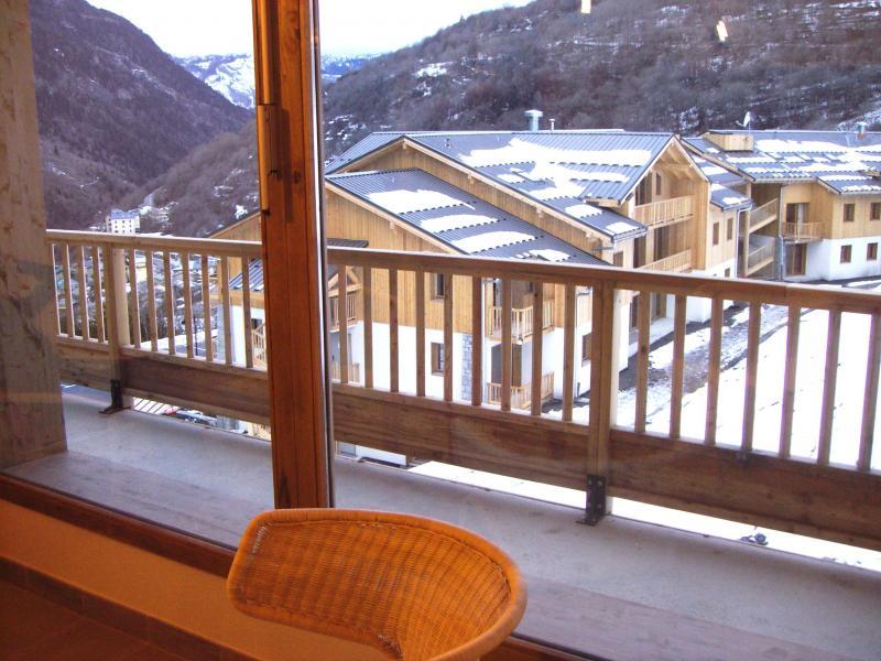 Wynajem na narty Résidence Orelle 3 Vallées By Résid&Co - Orelle - Balkon
