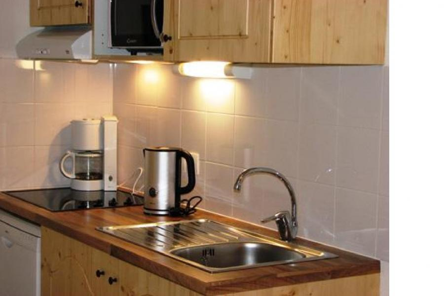 Rent in ski resort Résidence Orelle 3 Vallées By Résid&Co - Orelle - Open-plan kitchen