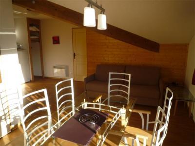 Location au ski Le Hameau des Eaux d'Orelle - Orelle - Salle à manger