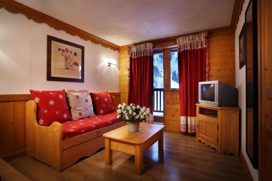 Location au ski Résidence Chalet des Neiges - Oz en Oisans - Coin séjour