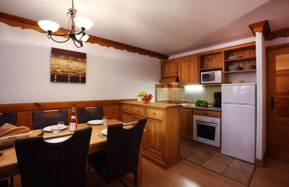 Location au ski Residence Chalet Des Neiges - Oz en Oisans - Cuisine