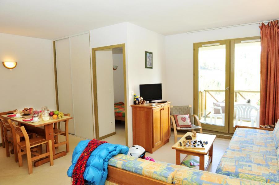 Rent in ski resort Résidence Couleurs Soleil - Oz en Oisans - Dining area