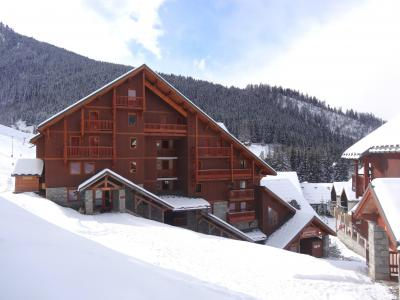 Location au ski Résidence Chalet des Neiges - Oz en Oisans - Extérieur hiver