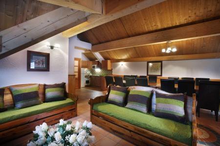 Location au ski Résidence Chalet des Neiges - Oz en Oisans - Canapé