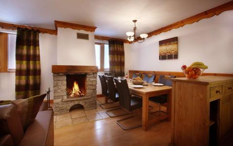 Location au ski Résidence Chalet des Neiges - Oz en Oisans - Salle à manger