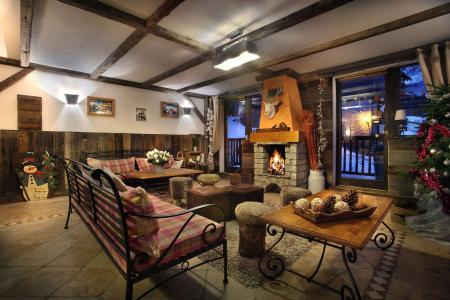 Location au ski Residence Chalet Des Neiges - Oz en Oisans - Séjour