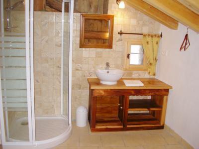 Location au ski Chalet duplex 5 pièces 8 personnes - Chalet Coeur Du Paradis - Peisey-Vallandry - Douche