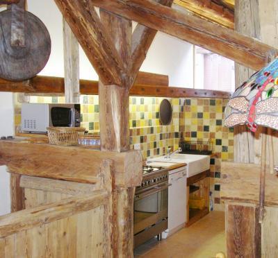 Location au ski Chalet duplex 5 pièces 8 personnes - Chalet Coeur Du Paradis - Peisey-Vallandry - Séjour