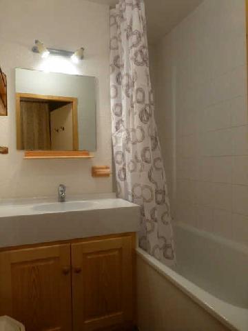 Location au ski Appartement 3 pièces 7 personnes (3302) - Residence Epilobes - Peisey-Vallandry - Baignoire
