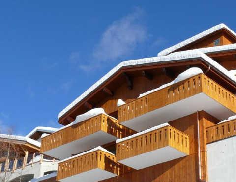 Location au ski Appartement 2 pièces 5 personnes (0111) - Residence Les Cordettes - Peisey-Vallandry