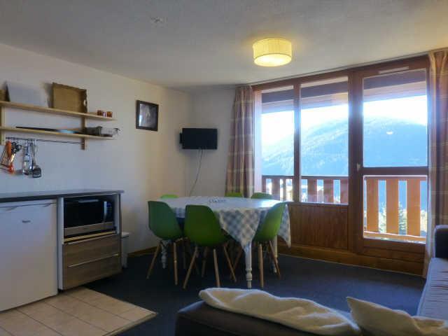 Location au ski Appartement duplex 3 pièces coin montagne 8 personnes (91) - Residence Petite Ourse - Peisey-Vallandry - Piscine privée